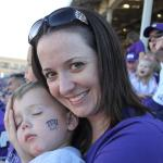 Falling asleep at TCU game